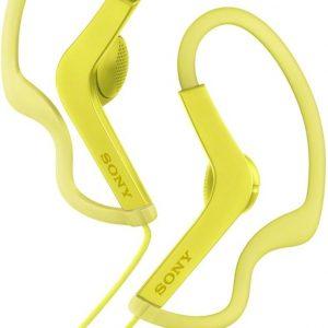 Sony MDR-AS210AP - In-ear sport oordopjes - Geel