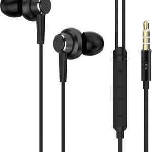 UiiSii GT900 Zwart - Aluminium In-ear oortjes van hoogstaande kwaliteit - Dynamic drivers van 12mm