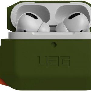 Urban Armor Gear Apple AirPods Pro Hoesje Siliconen Groen/Oranje