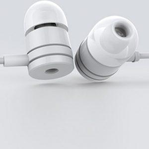 Xiaomi - In Ear Oordopjes - Met microfoon, pause, play en volumeknoppen Wit