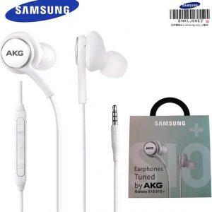 AKG oortjes S10+ samsung - Earphones - Tuned by AKG - in-ear oordopjes - bedrade - noise cancelling- knoopvrij - android iphone - samsung s8/s9/s10/s20 - wit