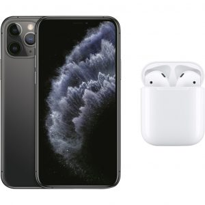 Apple iPhone 11 Pro 64 GB Space Gray + Apple AirPods 2 met oplaadcase
