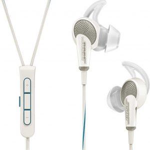 Bose QuietComfort 20i Apple - In-ear hoofdtelefoon met Acoustic Noise Cancelling - Wit