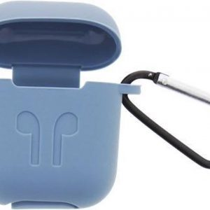 Case voor AirPods - Opbergcase - Hoesje oortjes - Silicone -Blauw -