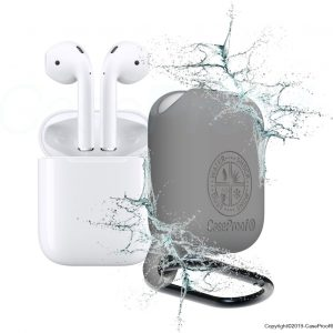 CaseProof waterproof case for AirPods grey