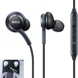 Wired AKG Earphones - Zwart - Samsung Galaxy S10+ oortjes - Tuned by AKG - In-ear oordoppen - Oortjes met draad - Noice-cancelled - Android apparaat oortjes