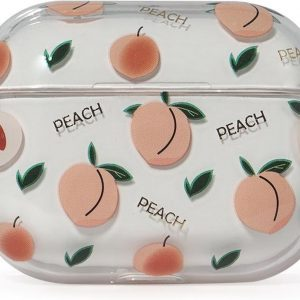 Coverz AirPods pro hoesje Peach - AirPods pro hard case