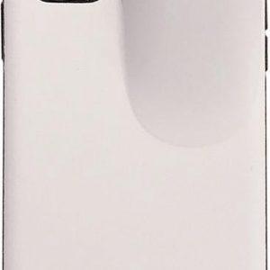 Let op type!! Voor iPhone 11 Pro Max PC + TPU schokbestendige beschermende Rugkoffer met AirPods opbergdoos (wit)