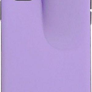 Let op type!! Voor iPhone 11 Pro Max PC + TPU schokbestendige beschermende terug geval met AirPods opbergdoos (paars)