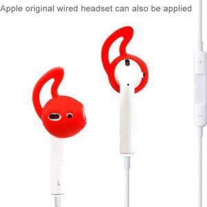 Mobigear Earbuds met Earhook Zwart voor Apple AirPods
