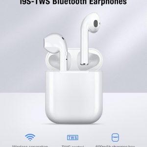 Beste Alternatief AirPods 2020 - In-ear koptelefoon - Bluetooth 5.0 - TWS - Oortjes - Handsfree - Wit - Draadloos - Oplaadcase - Airpods - Earbuds - Earpods - Apple - IOS - Android - Geschikt - Vaderdag Tip
