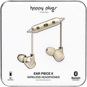 """Happy Plugs Hoofdtelefoon Bluetooth® """"Ear Piece II"""", Champagne & Goud"""