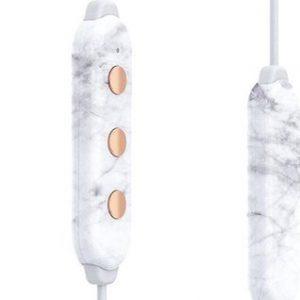 Happy Plugs Hoofdtelefoon Earbud Plus II BT White Marble