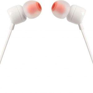 JBL Stereo in-ear Oordopjes T110 - Wit