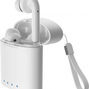 OX Draadloze In-Ear Oordopjes by Douxe - Draadloze Bluetooth Oortjes - Geschikt voor alle bluetooth smartphones zoals Apple iPhone en Android - Wit