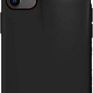 Shieldcase iPhone 11 hoesje met Airpods houder (zwart) met Privacy Glas