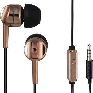 Thomson EAR3005BO koptelefoon, in-ear, microfoon, brons