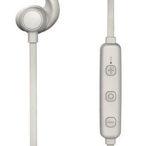 Thomson WEAR7208GR Bluetooth®-koptelefoon, in-ear, microfoon, ear-hook, grijs