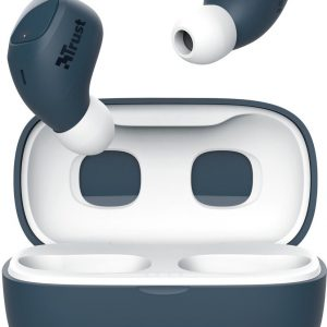 Trust Nika Compact - Volledig Draadloze Oordopjes -Bluetooth - Blauw