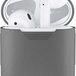 iGlove Series 360 Siliconen Beschermhoes voor Apple AirPods - Grijs