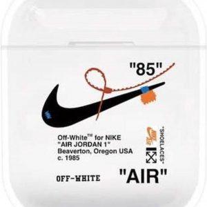 """AirPods hoesje """"air"""" zwart - AirPods hoesje voor AirPods 1 en 2 - Beschermhoes - hoesje voor Apple AirPods met perfecte pasvorm - AirPods case - bescherming voor de AirPods - Hardcase - AirPods accessoire"""