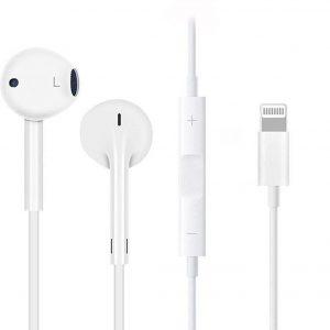 Apple EarPods - met lightning connector - Apple Gecertificeerd voor iPhone /iPad - Wit
