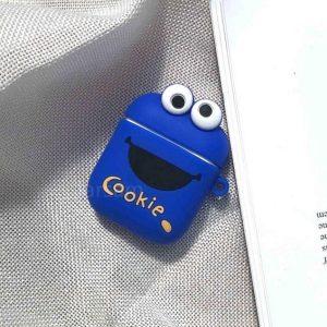 Apple airpod case / hoesje beschermer Cookie monster