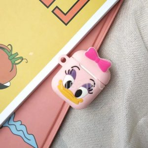 Apple airpod case / hoesje beschermer Daisy Duck