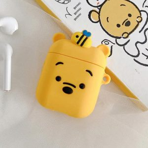 Apple airpod case / hoesje beschermer Whinnie the pooh