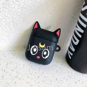 Apple airpod case / hoesje beschermer Zwarte Kat
