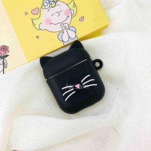 Apple airpod case / hoesje beschermer Zwarte kat Y