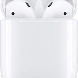 Bluetooth oortjes earpods oordopjes wit
