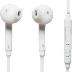 (Combi Pack 2x stuks )Oordopjes/headset geschikt voor Samsung Galaxy S7, S7 edge, S6, S6 Edge, S6 Edge Plus en andere smartphones -Nieuw Model- Wit - Underdog Tech