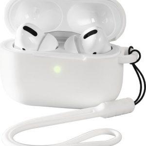 Hama Beschermhoes voor Apple Airpods Pro, wit