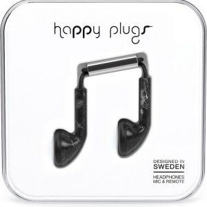 Happy Plugs Earbud - In-ear oordopjes - Zwart Marmer