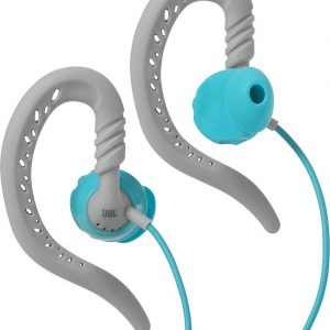 JBL Focus 100 Grijs, Turkoois Intraauraal oorhaak, In-ear koptelefoon