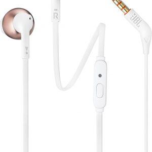 JBL T205 Rosé goud - In-ear oordopjes