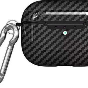 Mobigear Carbon Fiber Zwart voor Apple AirPods Pro