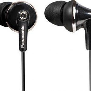 Panasonic RP-HJE190E Hoofdtelefoons In-ear Zwart