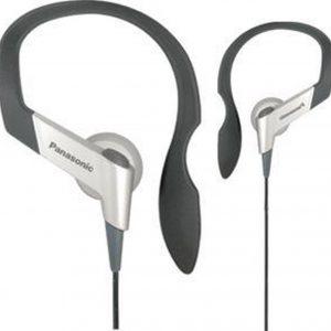 Panasonic RP-HS6E Hoofdtelefoons oorhaak Zwart, Zilver