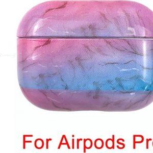 AirPods Marmer Case Cover - Beschermhoes - Multicolour - Geschikt voor Apple AirPods PRO