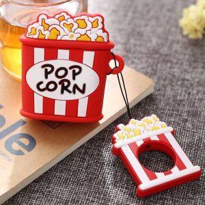 Airpods Hoesje | Airpods Case | Japanse Cartoon Kawaii Stijl Cute | Popcorn