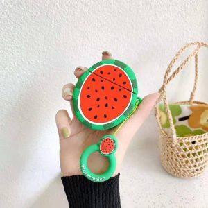 Airpods Hoesje | Airpods Case | Japanse Cartoon Kawaii Stijl Cute | Water Meloen