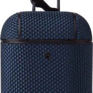 Airpods Hoesje - Nylon Hard Case - Blauw