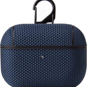 Airpods Pro Hoesje - Nylon Hard Case - Blauw
