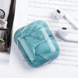 """Airpods hoesje - Airpod case """"Turquoise"""" - Airpods case - Airpod case - Airpod hoesje - Turkoois"""