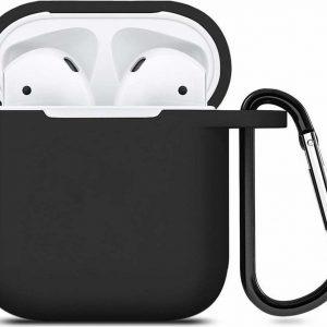 Apple Airpods silicone case - zwart