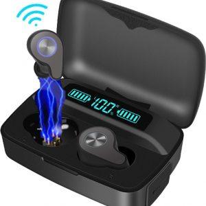 ArkENT F9 PRO Draadloze Bluetooth Oordopjes - 160 uur Luistertijd - Earpods Met Oplaadcase - Bluetooth 5.0 Draadloze Oortjes - In-Ear Oordopjes Draadloos Bellen