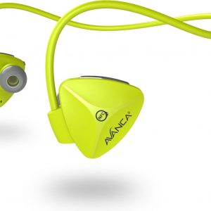 Avanca D1 In-Ear Bluetooth Sport Koptelefoon - Draadloze Oordopjes - Waterproof - Geel