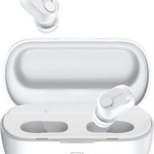 Baseus Encok W01 Draadloze Oordopjes True Wireless Headset Wit